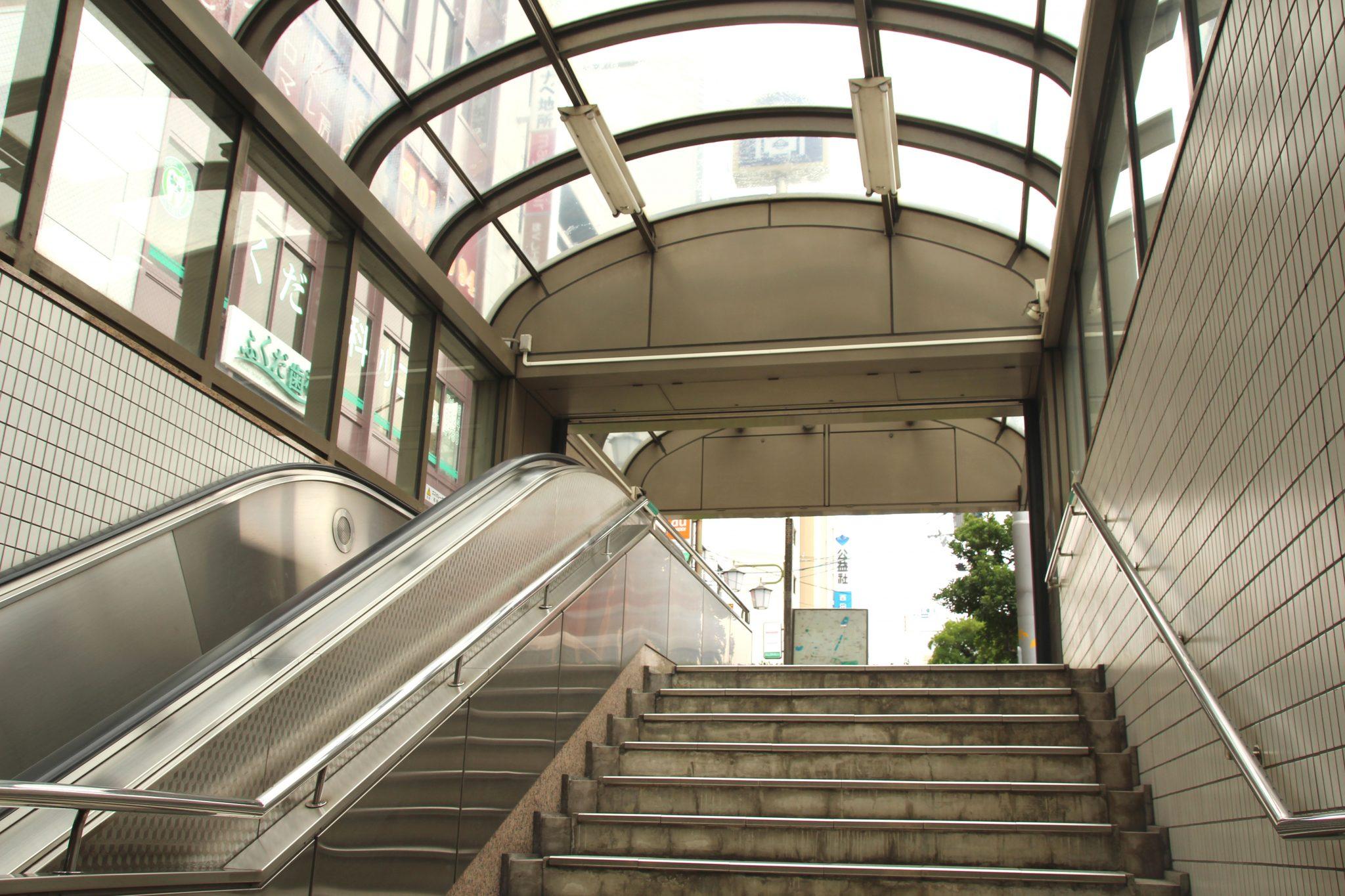 西田辺駅 ③番出口